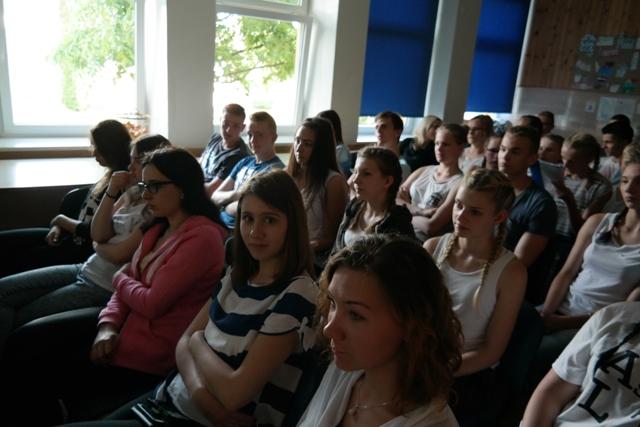 Czwarty dzień wymiany uczniów na Litwie 1