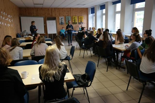 Pierwszy dzień wymiany uczniów na Litwie 1